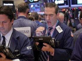 値下がりしたアメリカ株
