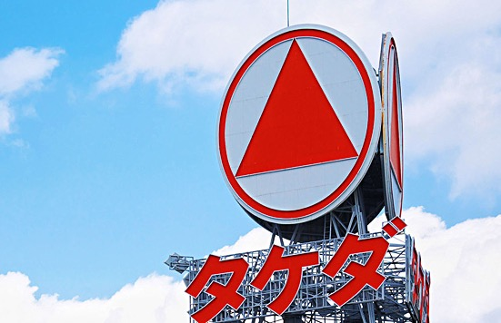 武田薬品の株価