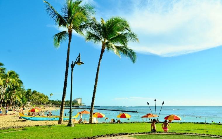 配当金でハワイ