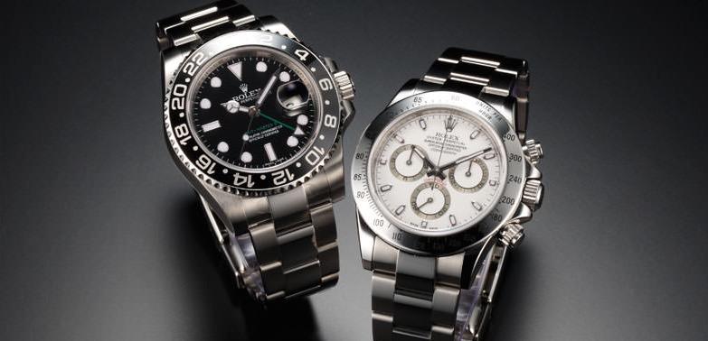 ビジネスマン高級腕時計ロレックス